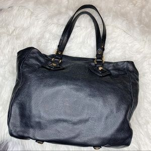 Marc by Marc Jacobs Black Leather Slouchy Tote